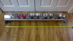 Light Bar - Red/White/Blue Mint Condition