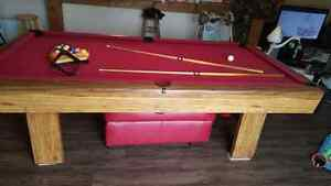 Table de billard et accessoires/ pool table Gatineau Ottawa / Gatineau Area image 6