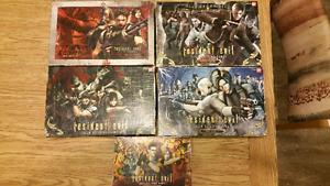 Jeux de carte Resident evil complet