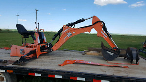 Woods backhoe attachment