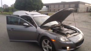 2006 mazda rx-8 4Dr Coupe 6-Speed Manua l Low KMs !