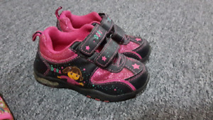 Dora The Explorer Running Shoes Size 6. Worn once