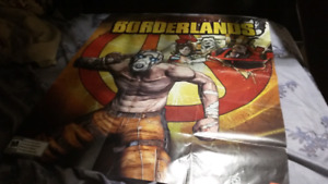 Borderlands double sided poster