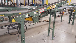 "Used Hytrol 6 ft x 14"" Conveyor Belt (T47)"