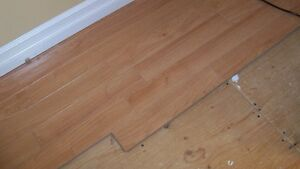 275 Square Feet of Laminate Click Flooring 12 mm thick