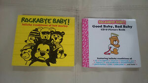 Rockabye Baby cds $8/each or both for $10