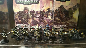 Warhammer 40k - Imperial Guard Shock Troopers and Heavy Team