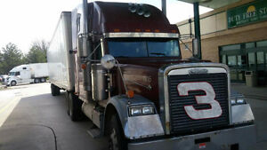 Freightliner 1999 N14 cummins engine No E- log books required