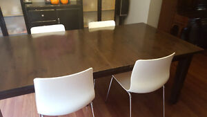 Set of 4 IKEA Dining Room Chairs Stratford Kitchener Area image 1