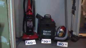 INDEPENDENT  VACS   LOW  PRICES   (90 DAY GUARANTEE)
