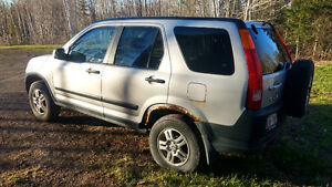 2002 Honda CR-V SUV, Crossover looking to traide for bike