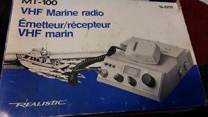 VHF Marine Radio & Antenna