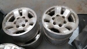 4 TOYOTA TACOMA RIMS 15 INCH GREAT FOR WINTER