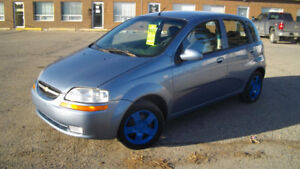 2007 Chevy Aveo 4cyl auto. Started up -29 no problem.