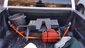 Hijacker double pivot 16,000 lb fifth wheel hitch