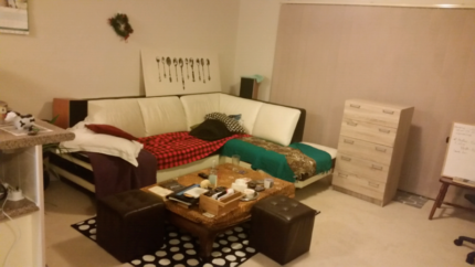 Fully furnished Hornsby room for rent in October in a flat