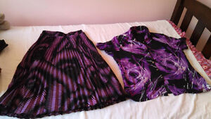 women XL outfits (Skirt and top)