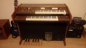 Baldwin antique organ, with rythem and effects