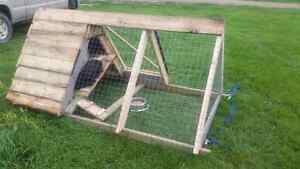 Rabbit or chicken tractor/cage