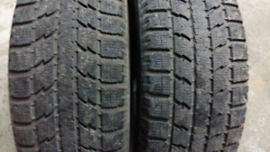 2 WINTER TIRES  235/60/r17