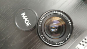Image 28 mm lens with Minolta mount