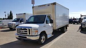 2013 FORD E-450 CUBE VAN E-SERIES GREAT FOR MOVING & STORAGE !!