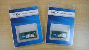 Crucial 16GB DDR4-2400 SODIMM CT8G4SFS824A
