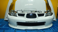 JDM Subaru Impreza WRX Front End Conversion Hood Headlights