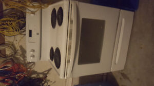 Great condition fridge and stove set for sale