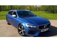 Volvo V90 2.0TD ( 190bhp ) ( s/s ) Auto 2017MY D4 R-Design BURSTING BLUE