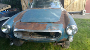 2 Volvo 1800 project cars