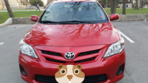 Toyota corolla ce 2013, Sunroof, carproof, Bluetooth. .....