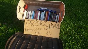 Boîte à livres à Richelieu.