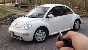 Looking for a Volkswagen Beetle