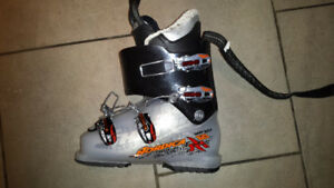 Jr skies and boots $120