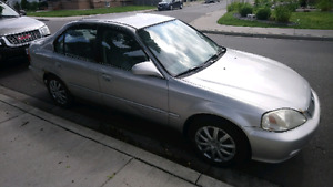 $750 OBO - 2000 Honda Civic - Manual Transmission