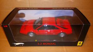 1/18 Hot Wheels Elite Ferrari Mondial 3.2 HotWheels Mattel Auto