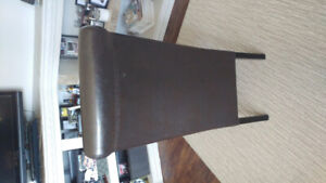 6 Dinning Chairs -brown