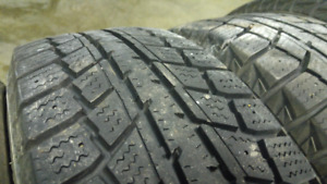 """Roues hiver 4x100 14"""" 175/65r14"""