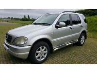 2001 Mercedes ML 270 Automatic 127K Miles FULL SERV LONG MOT 05/2018 Immaculate