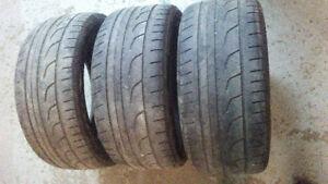 3x Bridgestone Potenza RE760 Sport 2x 275/35R19 & 1x 245/40R19