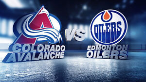 Two oilers tickets wanted for Colorado vs Edmonton