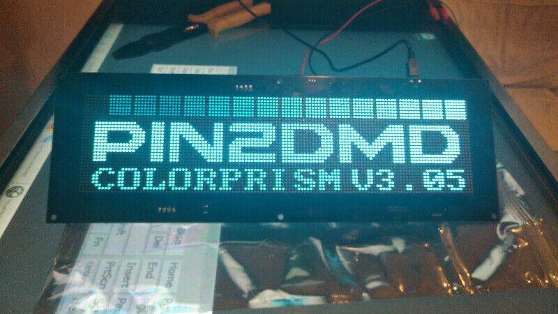 Replacement pinball colour dmd displays