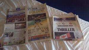 Vancouver 2010 Newspaper