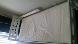 Ikea kid white bed with mattress