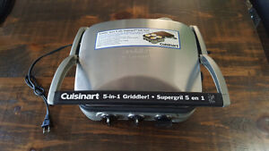 Brand new 5 in 1 Cuisinart Griddler