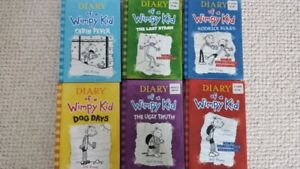 Diary of a Wimpy Kid - 6 books