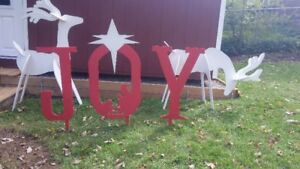 Christmas lawn displays - ORDER NOW