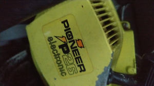 Pioneer p26 electronic gas chainsaw