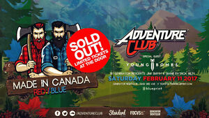 Adenture Club Tickets